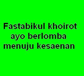 fastabikul-khoirot